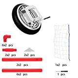 Toyk Kids Toys - LED Hover Ball Set 2 Goals Mini Screwdriver - Air Power Training Ball Playing Football Game - Soccer Toys 1 2 3 4 5 6 7 8 9 10 11 12 Year Old Boys Girls Best Gift