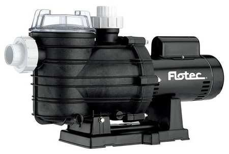 Pool Pump, 2 Speed, 1-1/2 HP, 3450 rpm, 230V