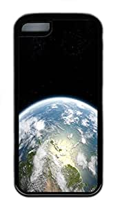 for ipod Touch 4 Case Planet Earth 3 TPU Custom for ipod Touch 4 Case Cover Black