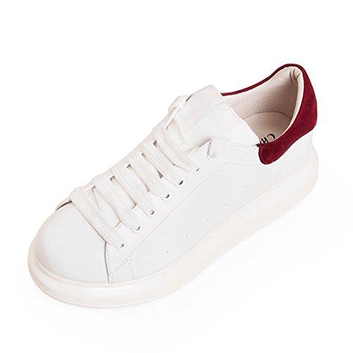 Moda de zapatos de suela gruesa plataforma/Zapatos de moda/Zapatos blancos C