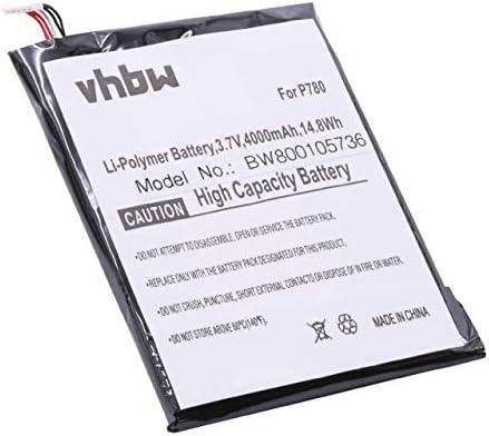 vhbw batería 4000mAh (3.8V) para teléfono móvil, Celular ...