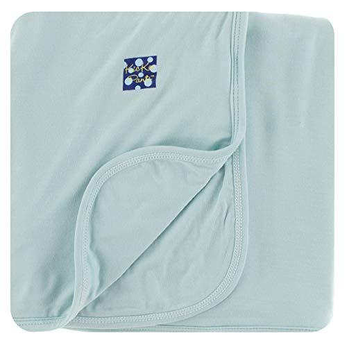 - Kickee Pants Little Boys Solid Stroller Blanket, Spring Sky, One Size