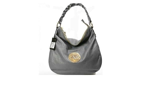 918059bd39d1 Amazon.com   Mulberry Bag Daria Hobo Shoulder Grey   Cosmetic Tote Bags    Beauty