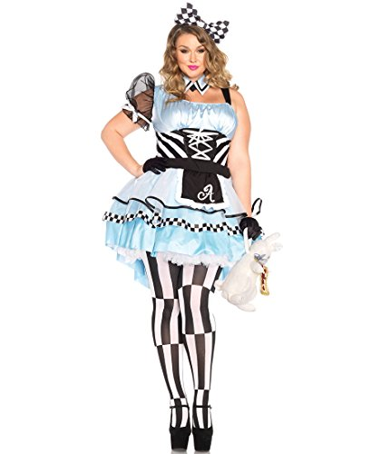 Psychedelic Alice Costume - Plus Size 3X/4X - Dress Size 22-26 ()