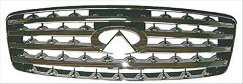 Unknown OE Replacement Infiniti G35 Grille Assembly Partslink Number IN1200107
