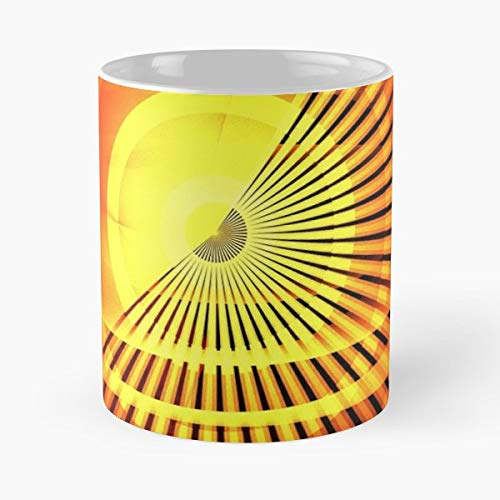 Apophysis Abstract Fractal Contemporary Funny Floral Coffee Mugs Gifts