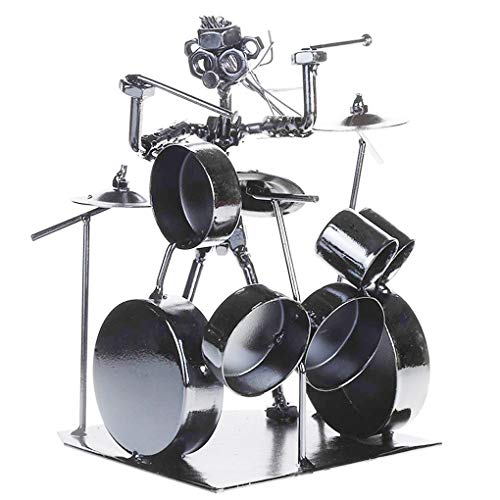 Fancinate Nuts & Bolts & Metal Musician Drummer Player Figure - 7.4