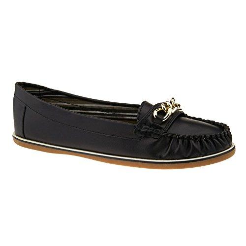 Footwear Femme London Compensées Noir Sandales tUddwqx1