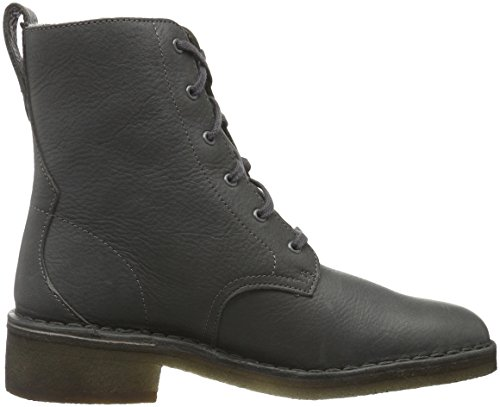 Clarks Originals Maru Elsa, Botines para Mujer Negro (Charcoal Leather)