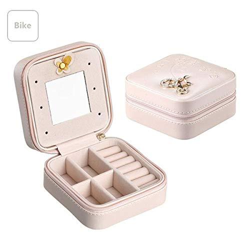 Daisy's Travel Jewelry Box With Mirror (Bike) (Daisy Mirror)