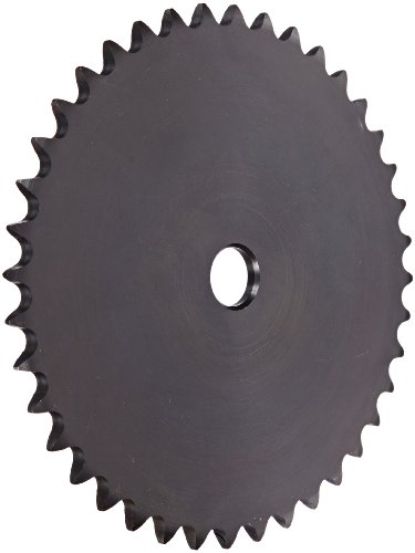 (Browning 41A40 Plate Roller Chain Sprocket, Single Strand, Type A Hub, Steel, 5/8