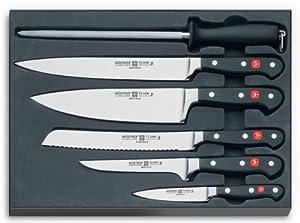 Amazon.com: Wusthof Classic 6-Piece Chef Knife Set: Chefs