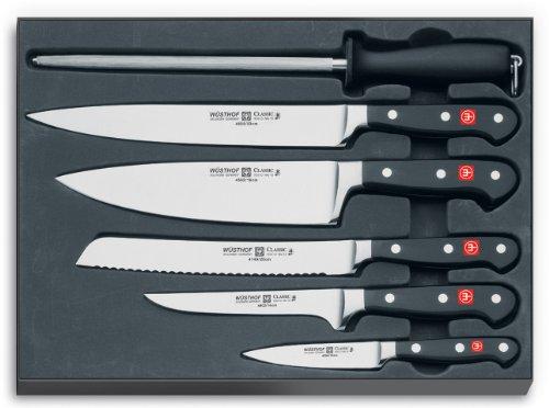 Wusthof Classic 6-Piece Chef Knife Set