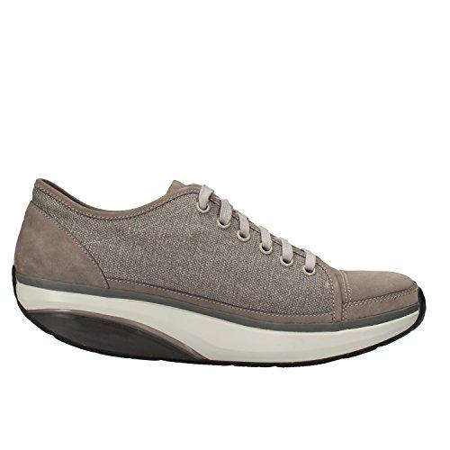 MBT Sneakers Hombre 42 EU Gris Textil Nubuck