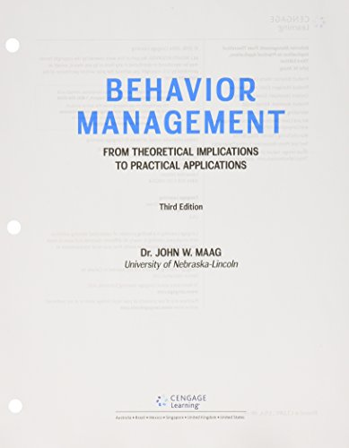 Bundle: Behavior Management: From Theoretical Implications to Practical Applications, Loose-leaf Version, 3rd + MindTap Education, 1 term (6 months) Printed Access Card (Behavior Management From Theoretical Implications To Practical Applications)