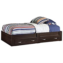 Sauder Beginnings Platform Bed, Twin, Cherry