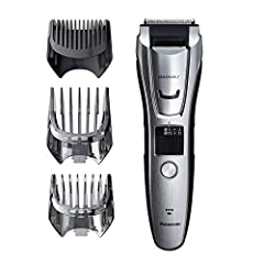 The Panasonic Body and Beard Trimmer for Men ER-GB80-S Cordless/Corded Hair Clipper exceeds the highest standards of trimmer and clipper quality, reliability and comfort to effeciently cut your beard and body hair. With an ergonomic, rubberiz...