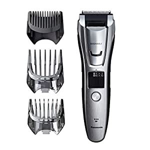Panasonic Multigroom Beard Trimmer Kit For Face, Head, Body Hair Styling and Grooming, 39 Quick-Adjust Dial Trim Settings, Cordless/Cord, – ER-GB80-S, Silver