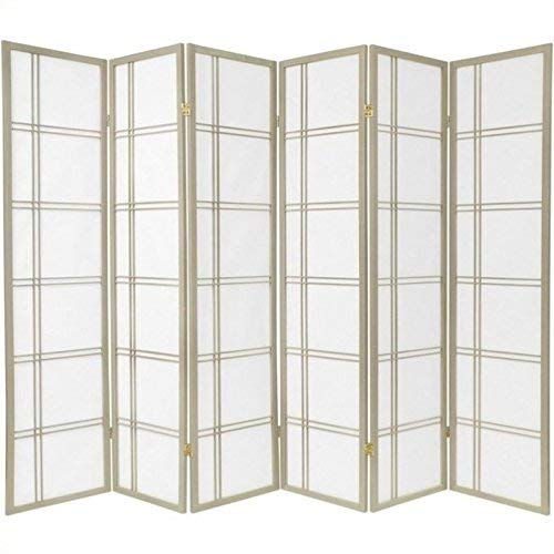 Oriental Furniture Special Edition Double Cross 72 Inch Room Divider