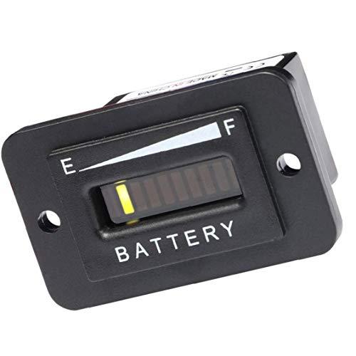 48V Batterij Indicator – 48 Volt LED Batterij Gauge Meter voor EZGO Golf Cart Trojan Batterijen