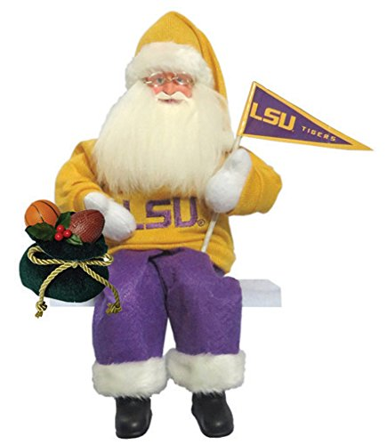 Santa's Workshop LAT040 LSU Musical/Animated Figurine, 15'' ,,