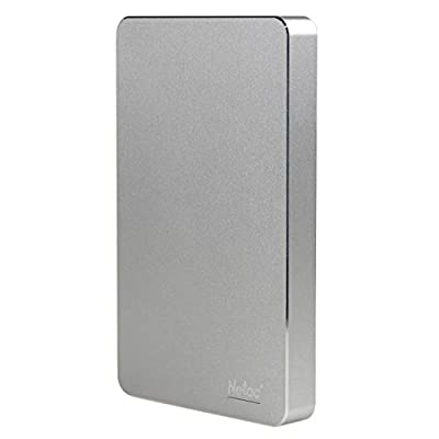 Netac K330 USB3.0 External Hard Drive Disk Aluminum Alloy Metal Housing - 1TB by Netac
