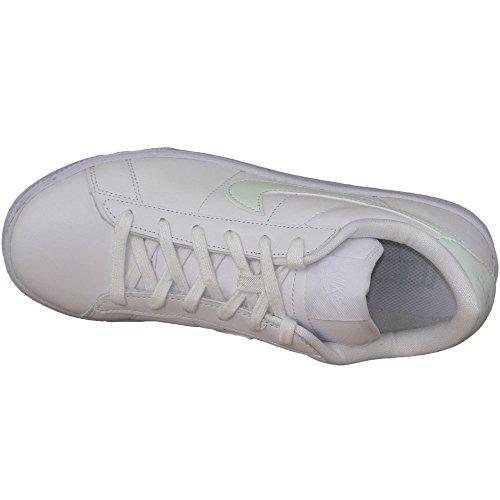 38 Femme Classic Chaussures Noir Blanc de Nike EU Fibre Fitness WMNS Blanc de Verre Tennis xTK8Z4