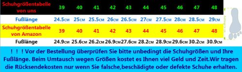 Dayiss® Herren Jungen Leder Sandalen Sport- & Outdoor Schuhe Sandaletten Schwarz