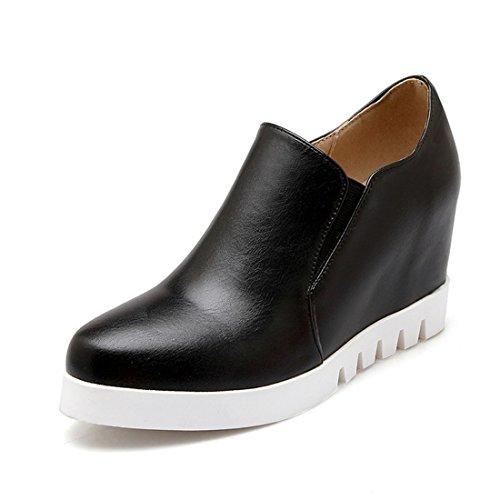 de Calzado black Calzado Casuales Zapatos Sandalette Suela Gruesa DEDE Señora awT1q1EI