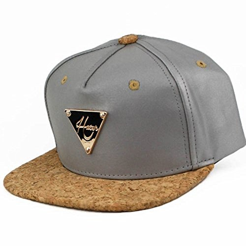 Hater Silver Cork Snapback - Hat Life Quiet