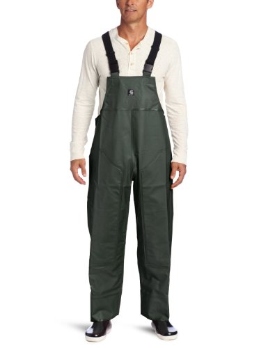 Carhartt Men's Big & Tall Surrey Bib Overalls,Green,XXX-Large Tall