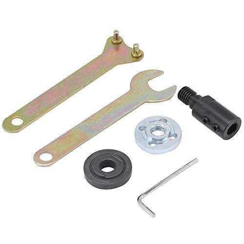 - M10 Arbor Mandrel Adaptor,5mm/8mm/10mm/12mm Motor Shaft Coupler Sleeve for Angle Grinder(M10-8mm)
