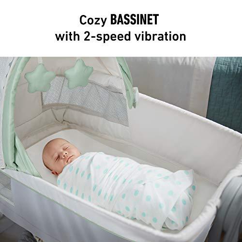 41OMztQhu2L - Graco Dream Suite Bassinet, Mason, One Size