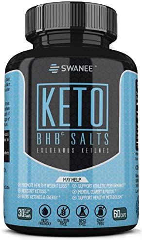 Fat Burner Keto BHB Exogenous Ketones Supplement. Keto Diet Pill