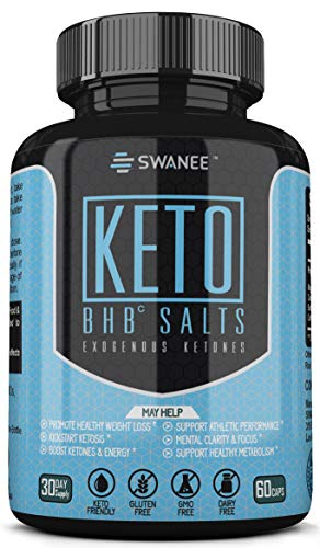 Fat Burner Keto BHB Exogenous Ketones Supplement. Keto Diet Pills for Healthy Weight Loss. Burn Fat for Fuel, Kickstart Ketosis, Increase Energy & Metabolism, Suppress Appetite, Mental Focus