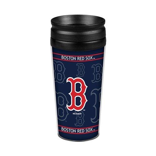 Boelter Brands MLB Full Wrap, Boston Red Sox Boston Red Sox Plastic Tumbler