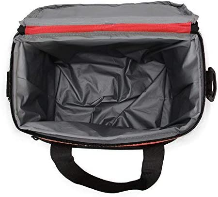 Red Hynes Eagle 10-Can Lightweight Lunch Cooler Bag