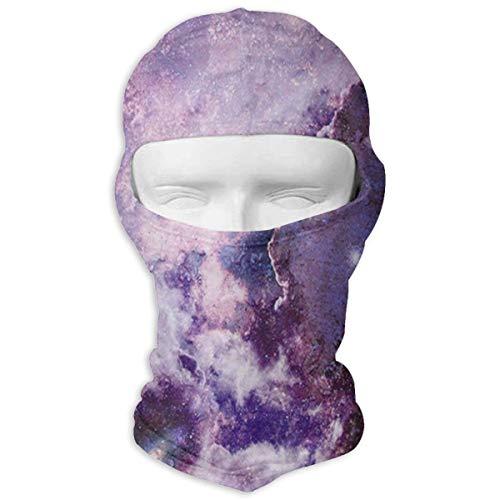 (MISSMORN Face Mask Headwear Magic Purple Supernova Explosion Motorcycle Skull Full Face Mask Thermal Windproof Ski Head Hood Helmet Liner Gear Cycling Mask Hood)