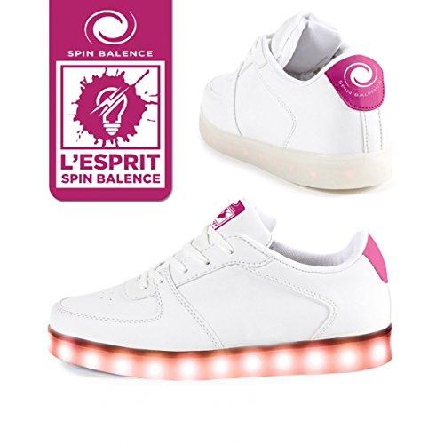 Spinbalence Chaussure à LED L04