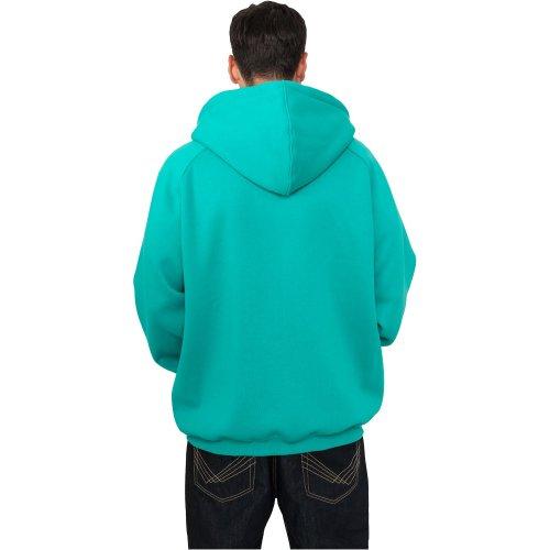Uomo Blank Hoodie Felpa Urban Blu Classics xISFqSw7