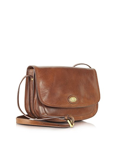THE BRIDGE FEMME 441520114 MARRON CUIR SAC PORTÉ ÉPAULE