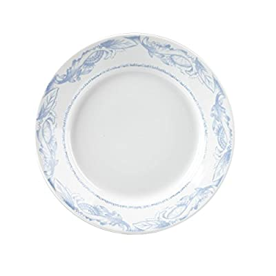 Jamie Oliver Blue & White Pasta Plate 28.5cm (Pack of 2)