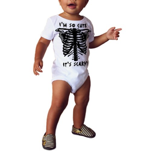 Scary (Cute Toddler Skeleton Costumes)