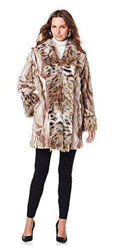 adrienne-landau-kimono-jacket-with-faux-fur-fox-trim-multi-taupe-spotted-lynx1x