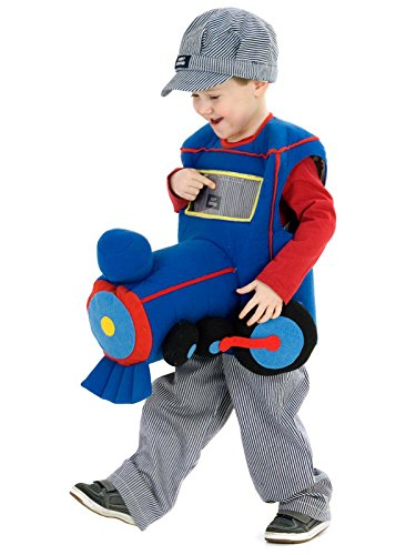 Plush Ride-in Train Child (Train Costumes For Toddlers)