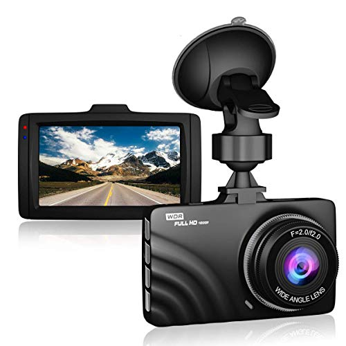 Parking Monitor Dash Cam 1080P FHD【2020 Newest Version】 Innosinpo Dash Camera for Cars 3 Inch Dashboard Camera Recorder with IR Night Vision,170/° Wide Angle G-Sensor WDR Loop Recording