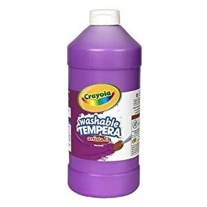Crayola Violet Washable Tempera Paint, 32-Ounce