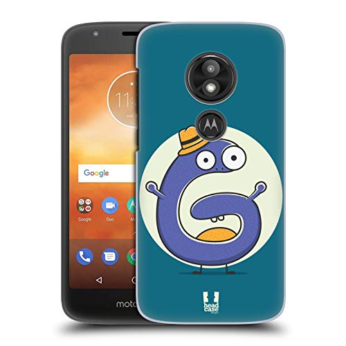 Head Case Designs Sir G Alphabet Monster Hard Back Case for Motorola Moto E5 - Monster G Case Moto
