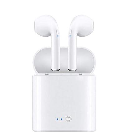 MM Mini Auricular Inalámbrico Bluetooth, Auriculares Deportivos Bluetooth Estéreo Inalámbrico Multi-Función En La