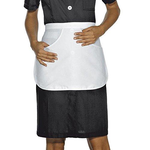 Lady Manica 26058 Bottoni Lunga 190 S Gr m² Chef Antipanico Cotone 100 Isacco Giacca Bianco Nero Tessuto 5wqBw0S